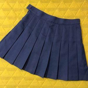 American Apparel school girl skirt